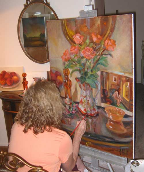 louise-herman-artist-at-work
