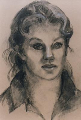 Self Portrait  graphite
