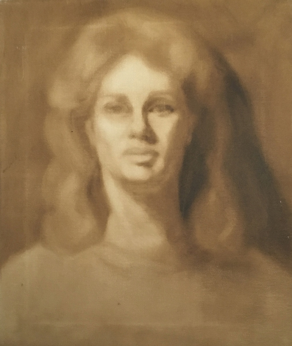 Self Portrait, sepia