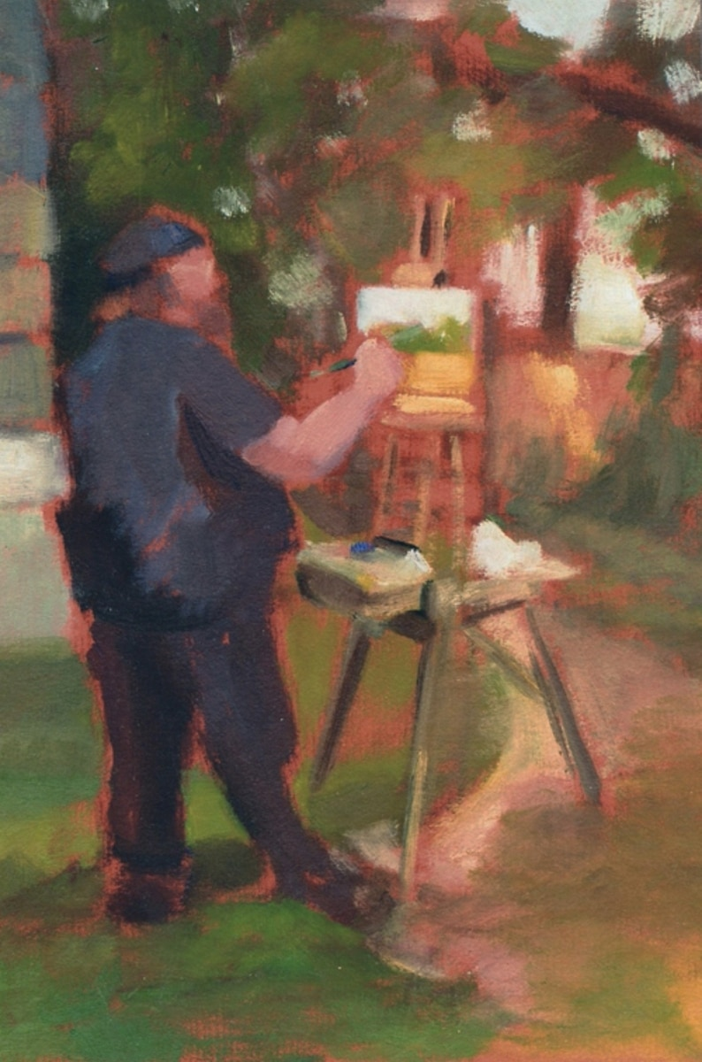 The Painting Demonstration