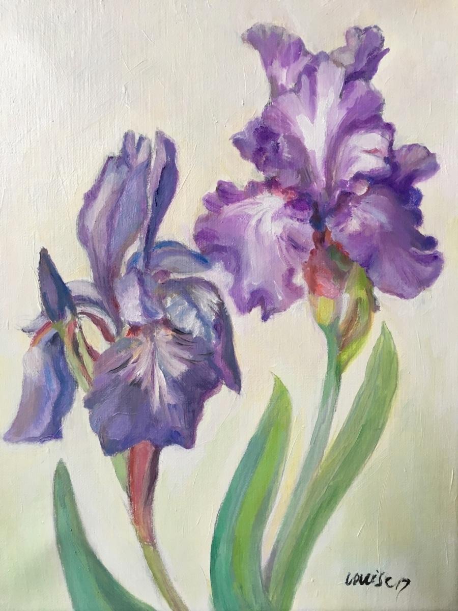 Two Irises 2