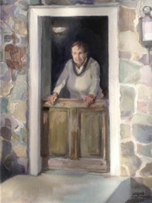 Betsy Wyeth at Home