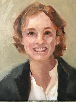 Portrait of Victoria Wyeth