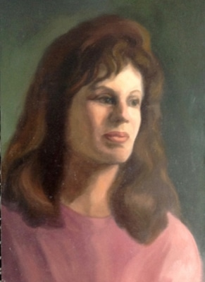 Seif Portrait with Pink top