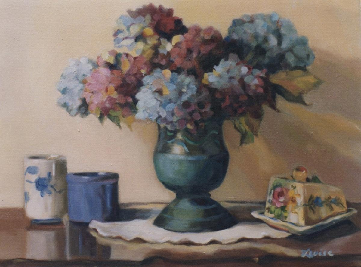 Hydrangeas, Aunt Ida's Vase