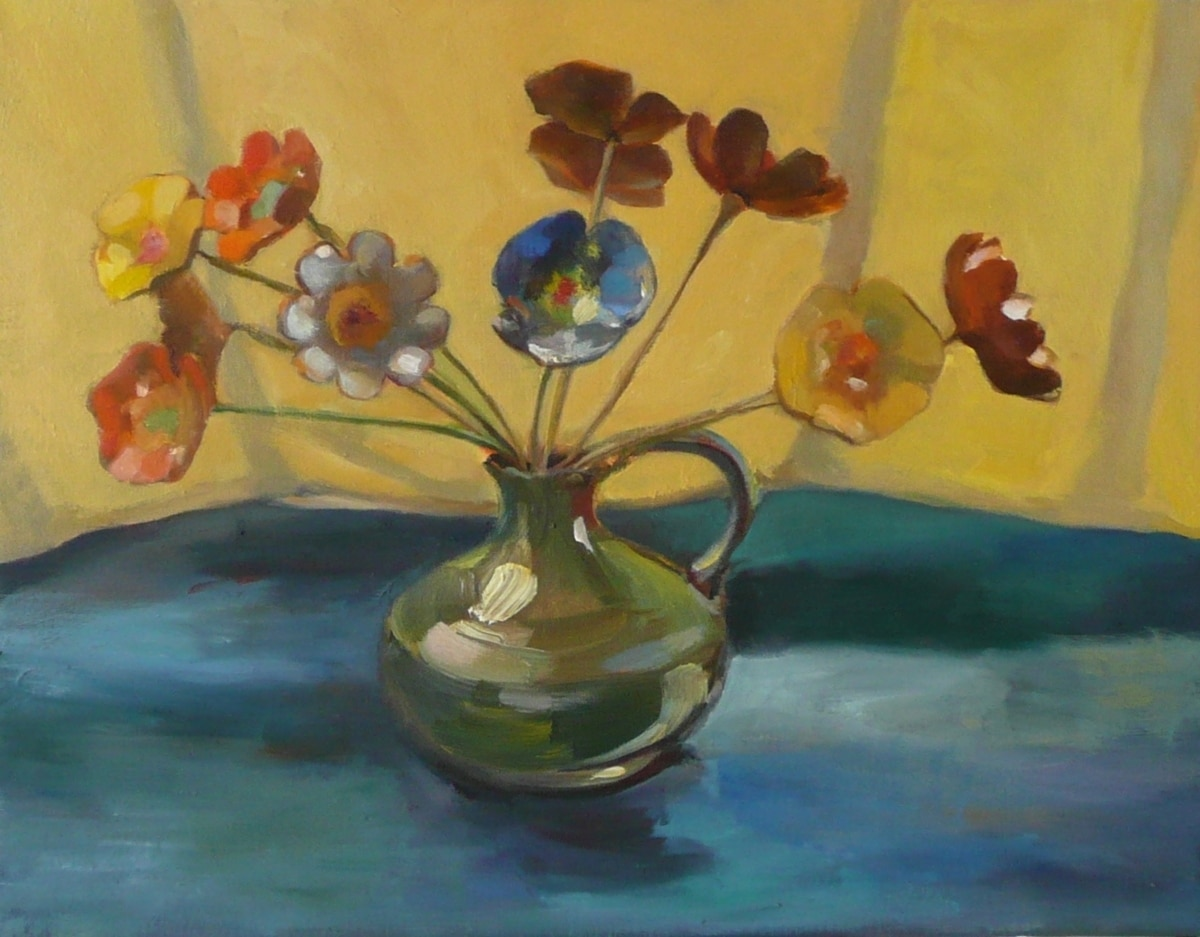 The Enamel Bouquet