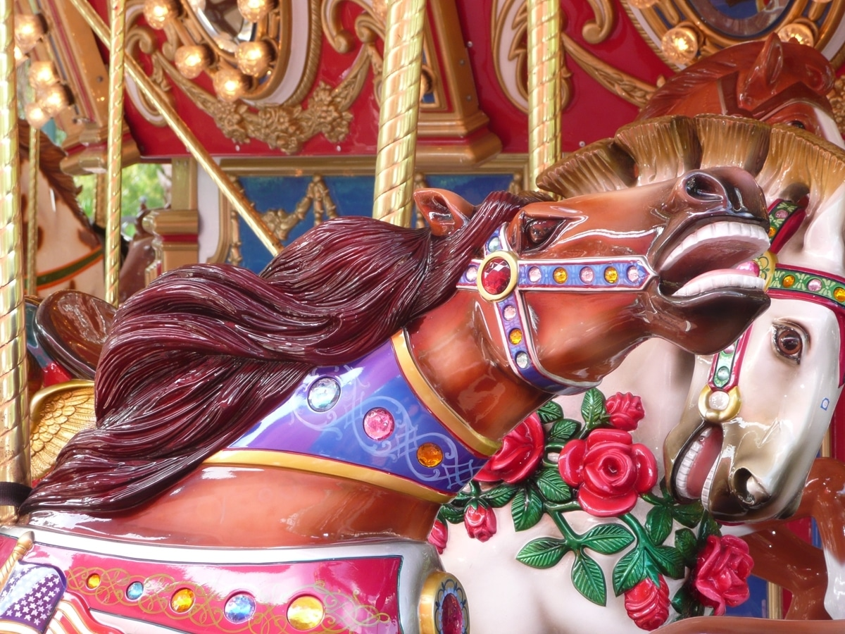 The Carousel Horses